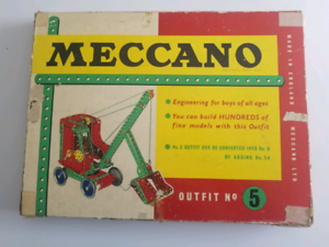 Vintage Meccano outfit no 5 plus extras Bertram Kwinana Area Preview