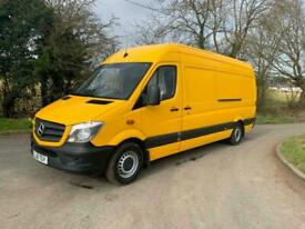 2016 Mercedes-Benz Sprinter 313cdi lwb high roof van LOW MILES PANEL VAN Diesel