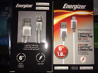Tired of replacing iphone cables? Energizer 6ft cable w/ 2 year
