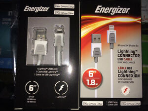 Tired of replacing iphone cables? Energizer 6ft cable w/ 2 year Peterborough Peterborough Area image 1
