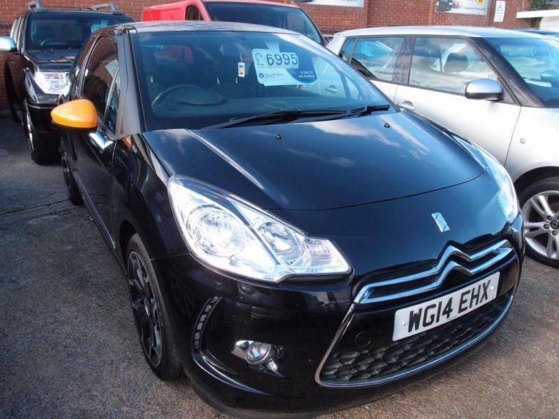 2014 14 CITROEN DS3 1.2 DSIGN BY BENEFIT 3D 82 BHP