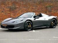 2013 Ferrari 458 4.5 V8 Spider Auto - DEPOSIT TAKEN - SIMILAR REQUIRED Convertib