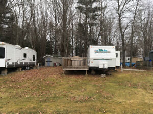 Trailer for Rent at Plantation Campground