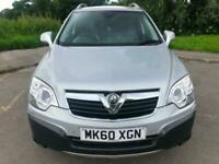 2010 Silver Vauxhall Antara 2.0CDTi 16v Auto SE AWD SUV Low Mileage Cheap 4X4