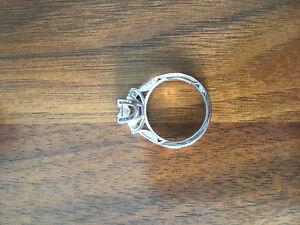 TACORI 18k White Gold 1CT Diamond Custom Engagement Ring