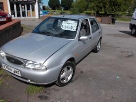 Ford Fiesta 1.3 giha nice very low miles car at 57k only 2 owners warranty