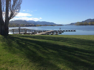 Lakeside townhouse for rent in Osoyoos, BC