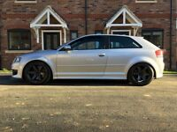 AUDI s3 🚗💨💥 8p 2.0tfsi 380bhp launch anti lag vw God gti r32 r modified coilover