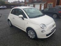 2009 58 Fiat 500 1.2 POP IN WHITE LOW MILES CHEAP TO RUN AND INSURE