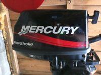 Mercury 5 hp 4 stroke outboard