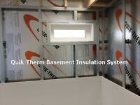 WARM & DRY BASEMENT / LIFETIME WARRANTY