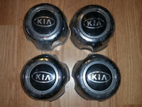 Set of 4 center caps for Kia Sportage 1995-2002