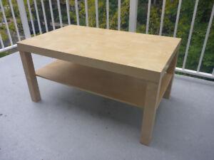IKEA Coffee Table - Birch Effect