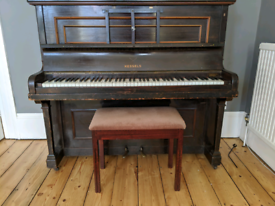 Upright piano - free for collection