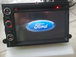ford lincoln and mercury oem fit gps bluetooth radio dvd audio