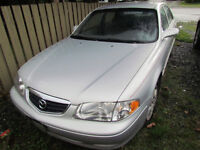 Great Condition Grey [2000] Mazda 626 Sedan - $2500 OBO
