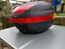 Moped /motorcycle carrying box.