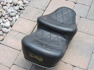 Norton Commando King and Queen Seat**Best Offer**