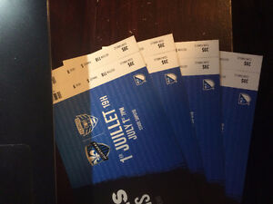 Montreal Impact vs DC United MLS Tickets (4 tickets)