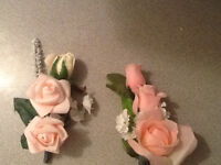 corsages and boutonniers for all occassions.....real or silk..
