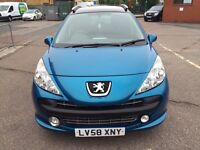 Peugeot 207 sport Sw Auto 2009 petrol 1.6 good condition one year mot 20/07/2017 expat