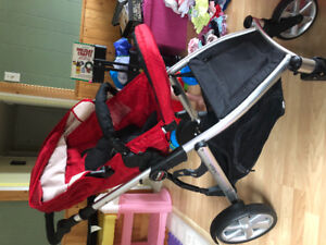 Britax B-Ready complete double stroller