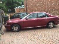 Rover 75 connoisseur automatic 2001 FULL MOT full service history