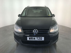 2014 VOLKSWAGEN SHARAN SE TDI BMT TECH AUTO 1 OWNER SERVICE HISTORY FINANCE PX