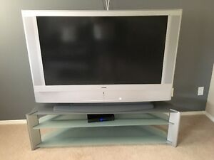 "Sony Grand WEGA 50"" LCD TV with stand"