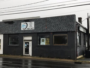 Retail Frontage on Young Street in North End Halifax