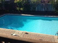 Private Backyard Swimming Lessons $80 per 5 lessons