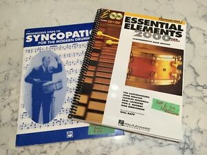 Drumming Lesson and Practice Books