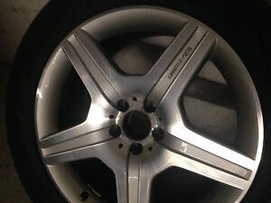 "19"" 4 X AMG Rims WinterTires %65, Mercedes ML, GL, ..285/45/19"