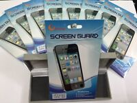 ***iPhone 4/4s Clear Screen Guards/Protectors***