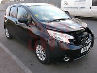 2015 Nissan Note Acenta 1.2 DAMAGED REPAIRABLE SALVAGE