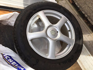 "Four 18"" Ultra Wheel Rims and Tires"