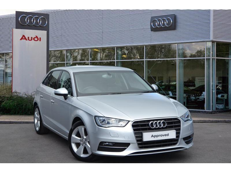 2014 audi a1 a3 sportback sport 2 0 tdi 150 ps 6 speed diesel silver manual in plymouth devon. Black Bedroom Furniture Sets. Home Design Ideas