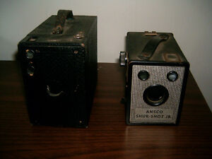 APPAREILS PHOTO ANTIQUES, LOT DE 2