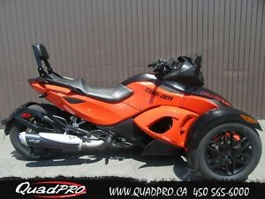 2012 Can-Am Spyder RS-S SM5 53,78$/SEMAINE