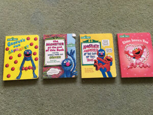 Sesame Street Children's Board Books
