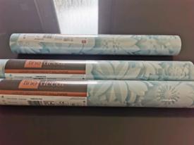 Fine Decor Dimensions 3D Effect Floral Teal Wallpaper X 3 rolls