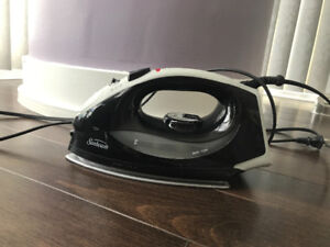 Moving sale! Sunbeam iron black