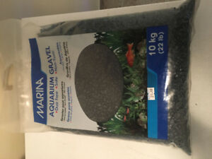 Marina black aquarium gravel