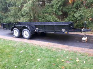 16 ft by 4.6 ft Utility Trailer