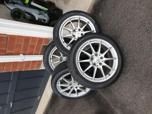 2015 CLA250 Rim + Winter Tire Package (Pirelli Sottozero)