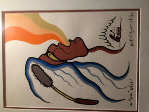 Contemporary indigenous painting