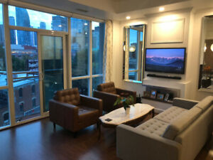 Furnished Private Condo Short Term Rental in St. Lawrence Market