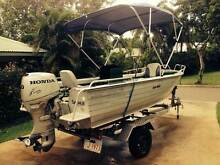 4.5m Savage boat tinny, 50HP Honda 4stroke Mitchell Palmerston Area Preview