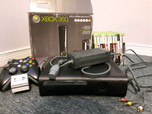 (250 GB) XBOX 360 ELITE + GAMES