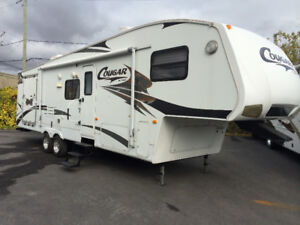Fifth wheel kestone cougar 310 srx